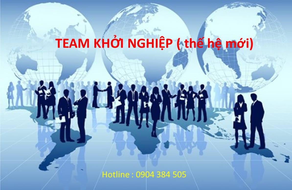 team khoi nghiep the he moi