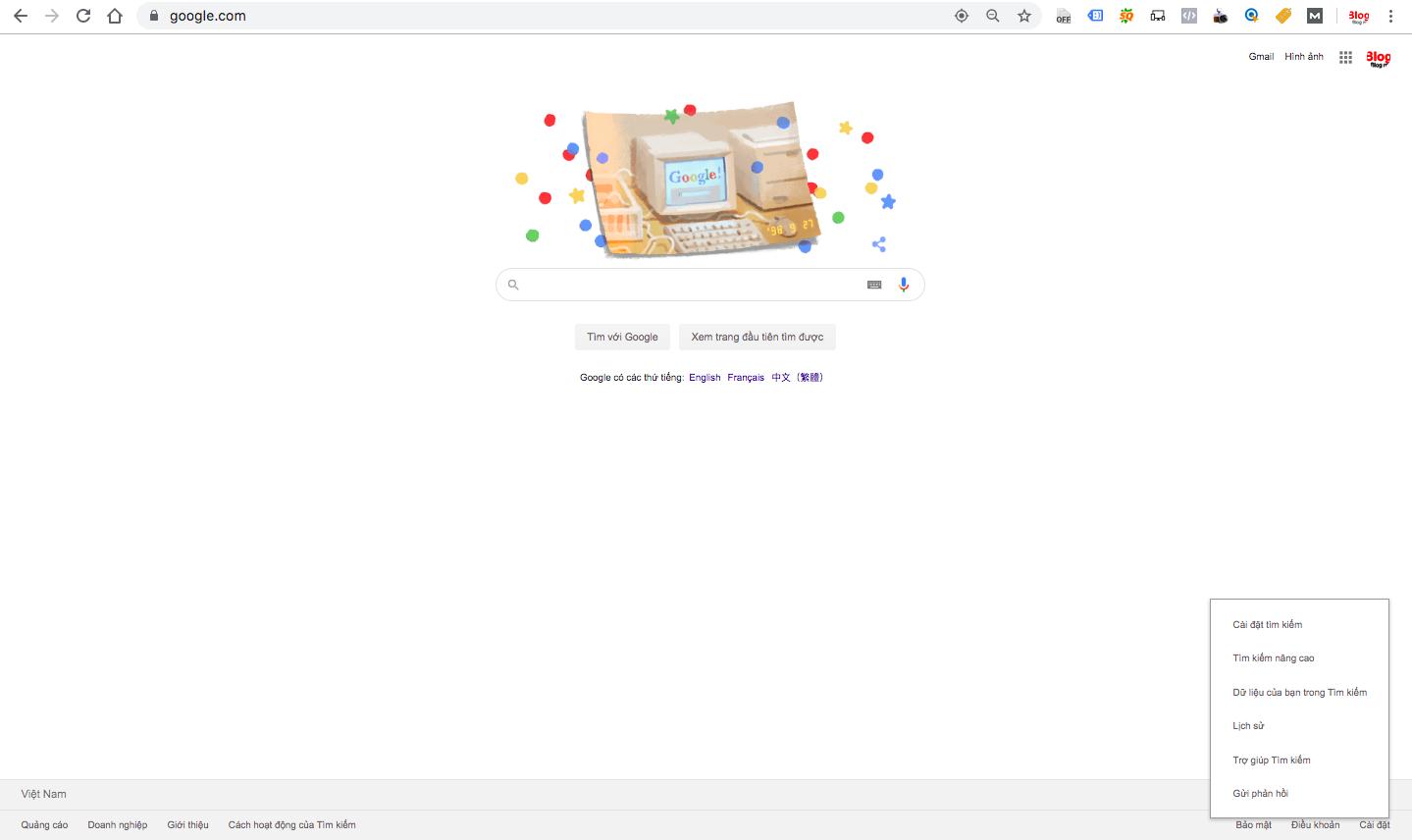 Cách hiển thị 100 kết quả tìm kiếm trên google