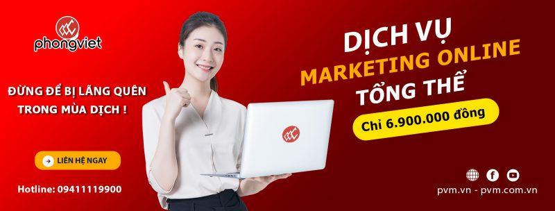 Dịch vụ marketing online trọn gói giá RẺ nhưng ĐẮC chất lượng.
