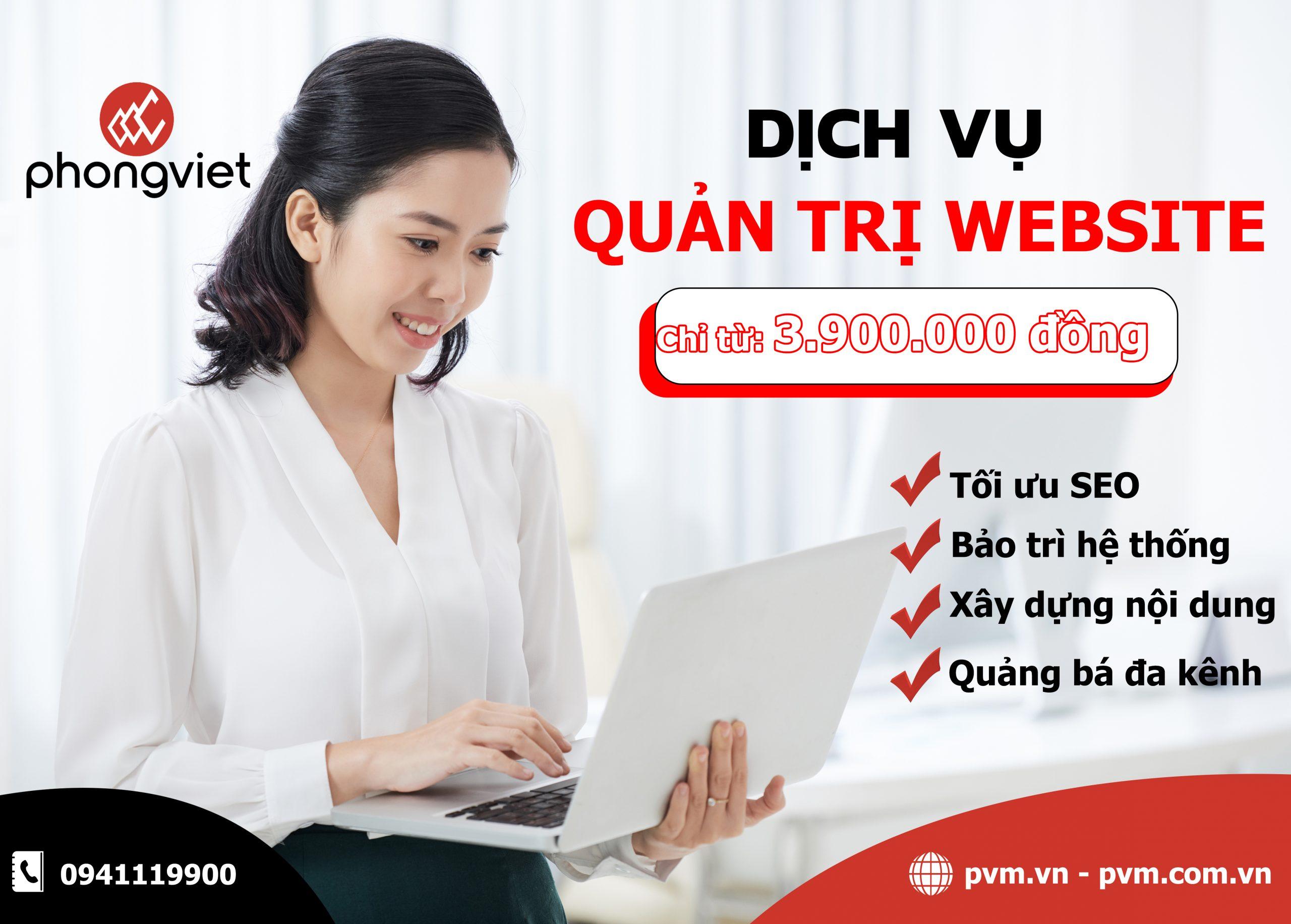 Tầm quan trọng của dịch vụ quản trị website đối với Doanh nghiệp trong thời đại mới